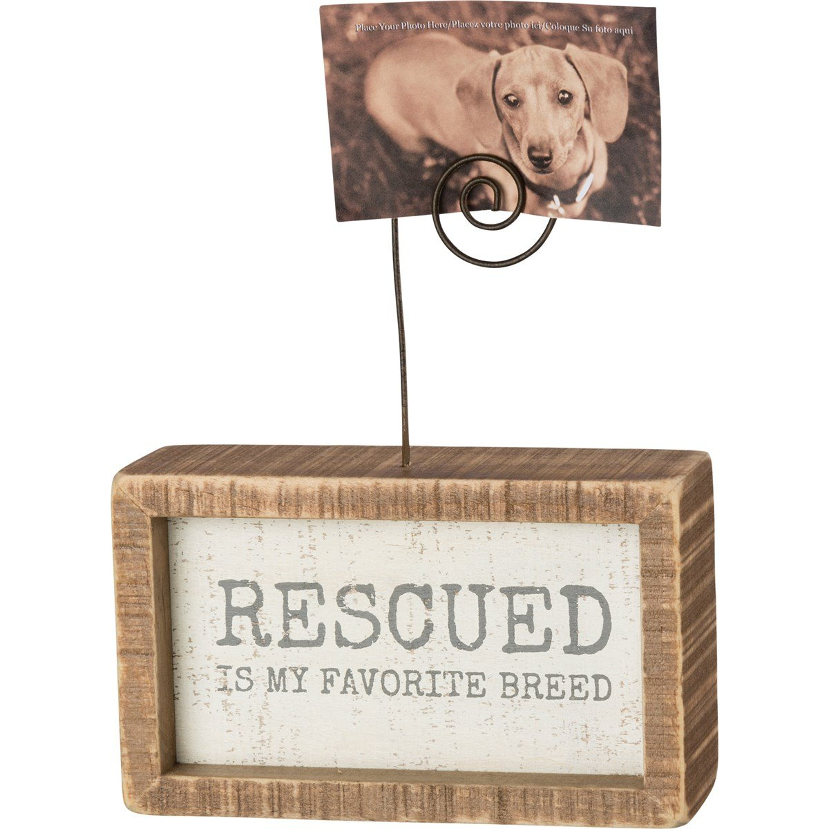 Rescued Insert Photo Block