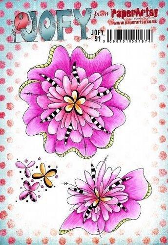 JOFY91 PaperArtsy JOFY Stamp JOFY 91