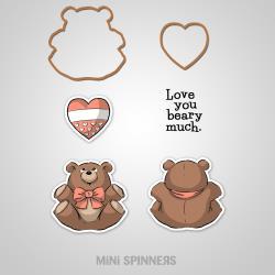 AI- Mini bear Spinner