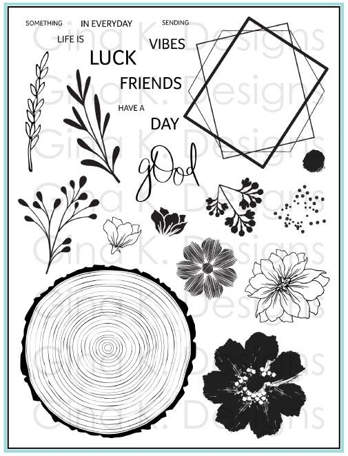 Gina K Designs- Clear Stamps- Something Good in Everyday