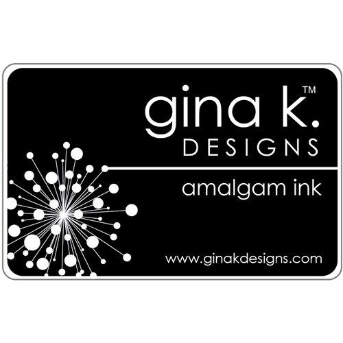 Gina K Designs JET BLACK AMALGAM Ink Pad
