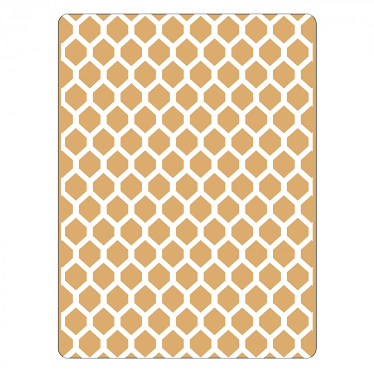 Sizzix Textured Impressions- honeycomb