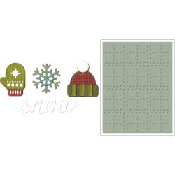 Winter- Sizzix Sidekick Side-Order Set By Tim Holtz