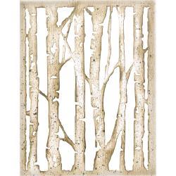 Branched Birch- Sizzix Thinlits Dies By Tim Holtz