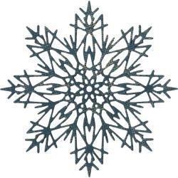 Flurry #3 Snowflake Tim Holtz Sizzix Die