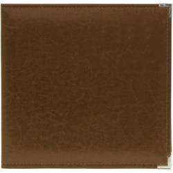 WeR DRing 12X12 Album- Dark Chocolate