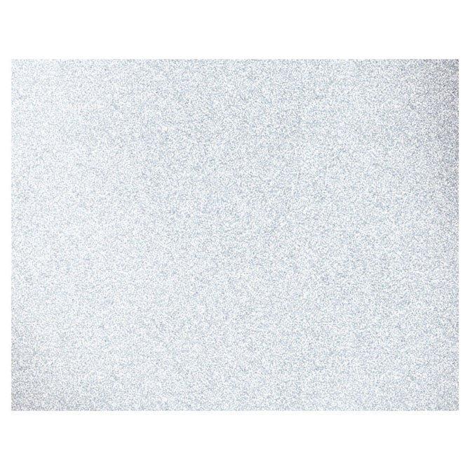 GLITTER POSTER BOARD - 22 X 28 - WHITE Glitter