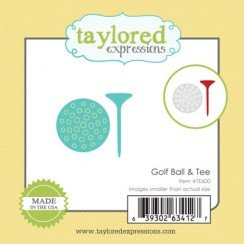 Taylored Expressions Little Bits-GOLF BALL & TEE