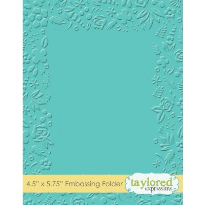 Taylored Expressions-Garden Party Embossing Folder