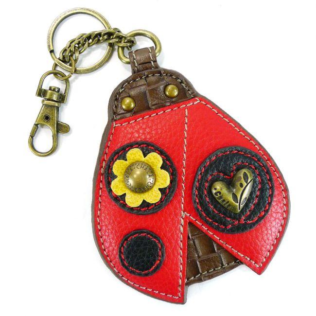 Ladybug Key Fob/ Coin Purse Chala