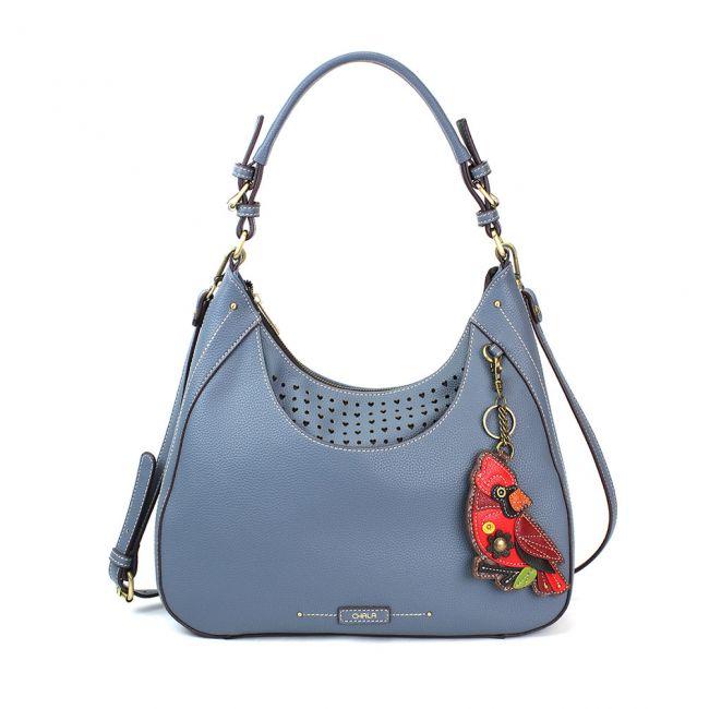 Blue Sweet Tote/Hobo w/ Cardinal Chala Bag