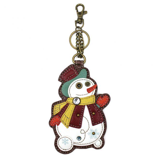 Snowman - Chala Coin Purse/ Key Fob