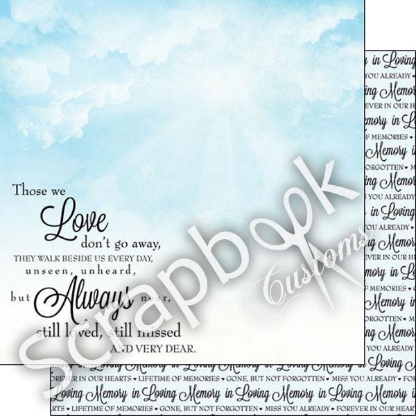 In Loving Memory Paper