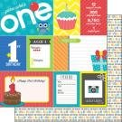 1st Birthday Paper- Boy