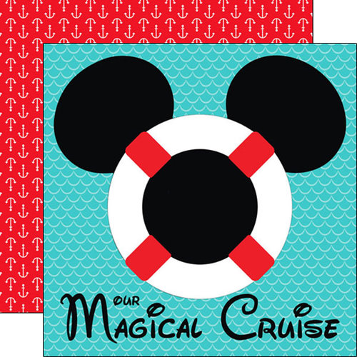 Magical Cruise Life Preserver Paper
