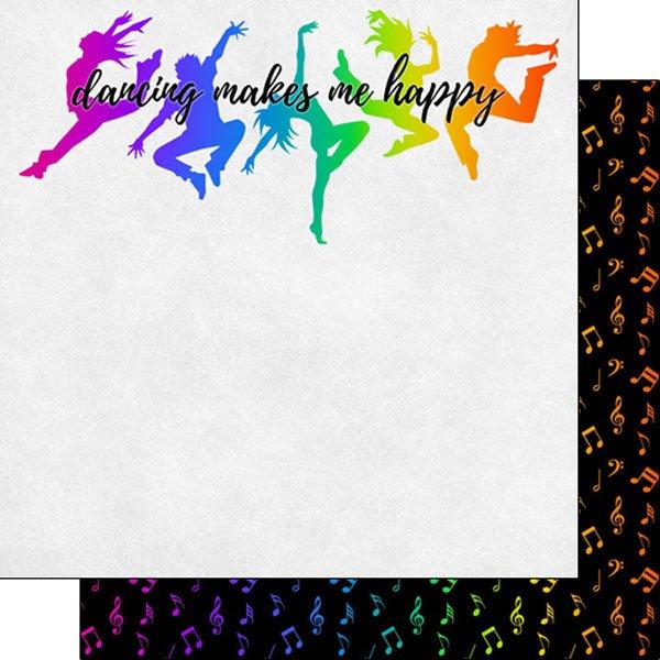 Dance Neon 3 (makes me happy) Paper