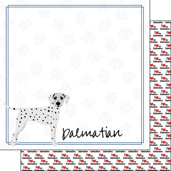 Dalmation Border 12x12