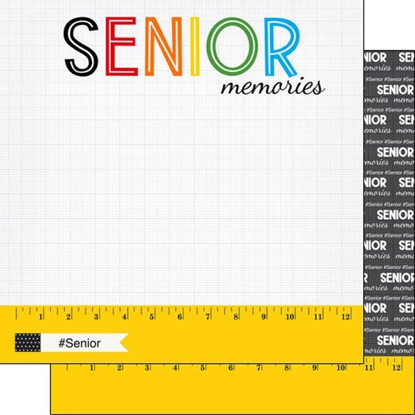 Scrapbook Customs- Senior Memories 12x12