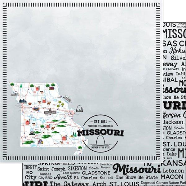 Missouri State 12x12 paper