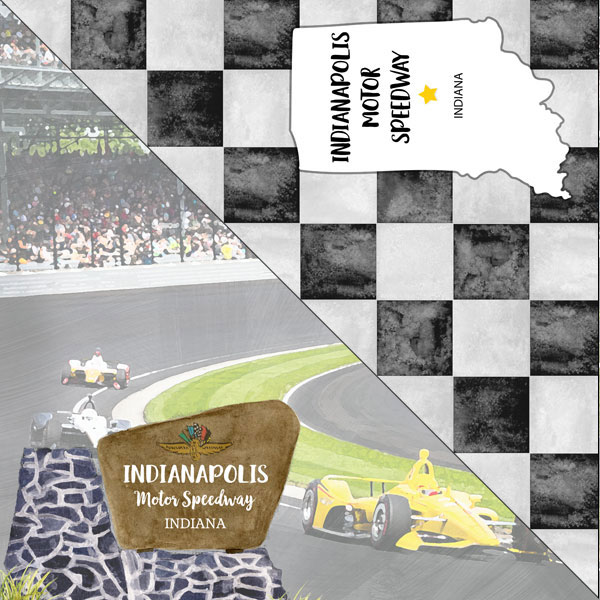 INDIANA - INDIANAPOLIS MOTOR SPEEDWAY PAPER