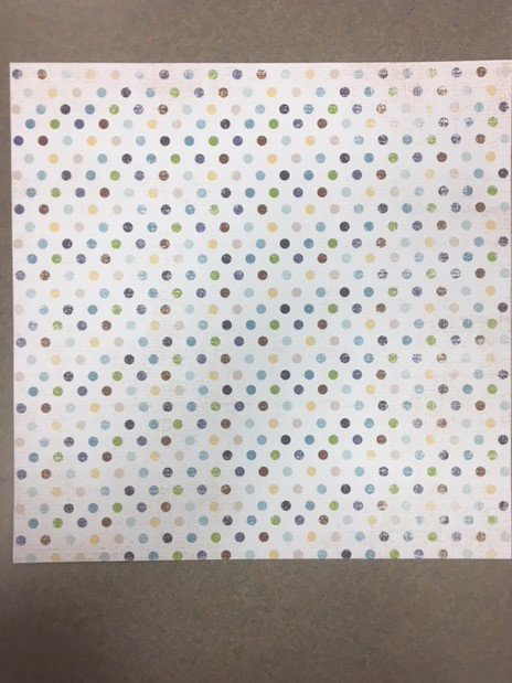 Dots-Cold Weather Collection Paper- Adorn It
