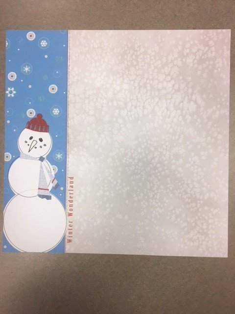 Winter Wonderland Paper- Adorn It