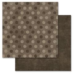 Brown Pixie Dots Blender Basics - 12X12 Adornit Paper