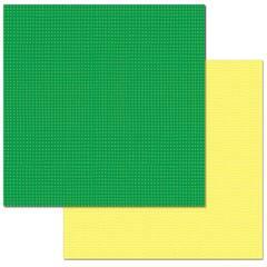 Emerald Check - 12X12 Adornit Paper