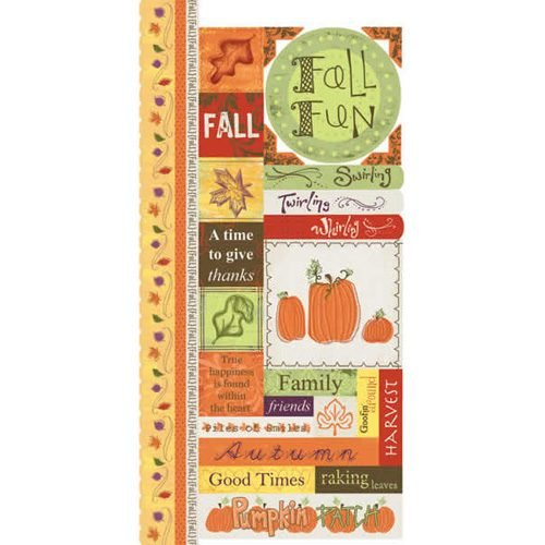Fall  Fun -Adorn It Cardstock Sticker