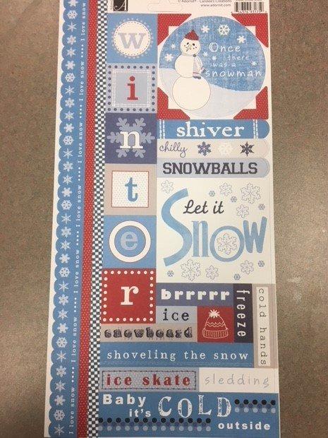 Snow, Snow, Snow Sticker- Adorn It