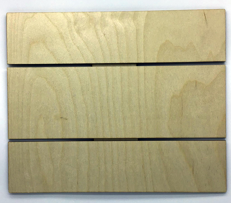Laser Cut Birch Wood- DIY Decorative Pallet
