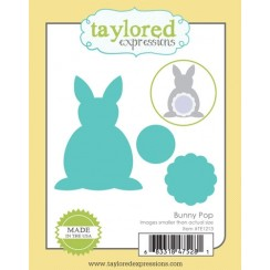 Taylored Expressions Die- bunny pop