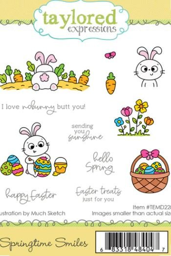 SPRINGTIME SMILES- Taylored Expressions Stamp
