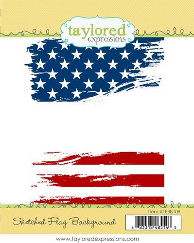 SKETCHED FLAG BACKGROUND - Taylored Expression