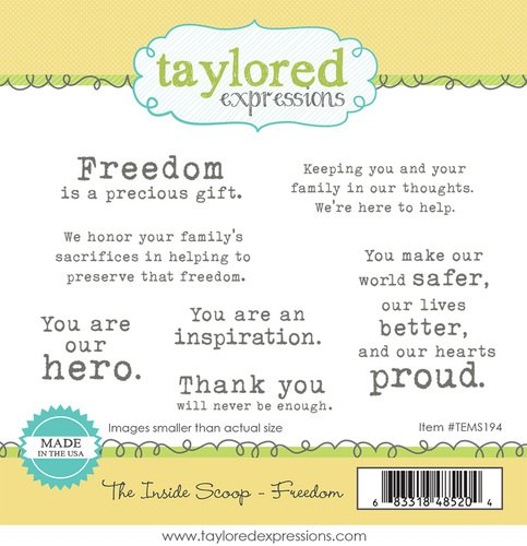THE INSIDE SCOOP - FREEDOM- Taylored Expressions