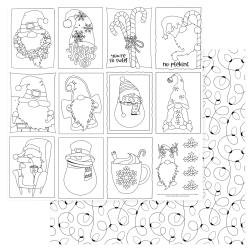 Gnome For Christmas Double-Sided Cardstock 12X12 Color Me