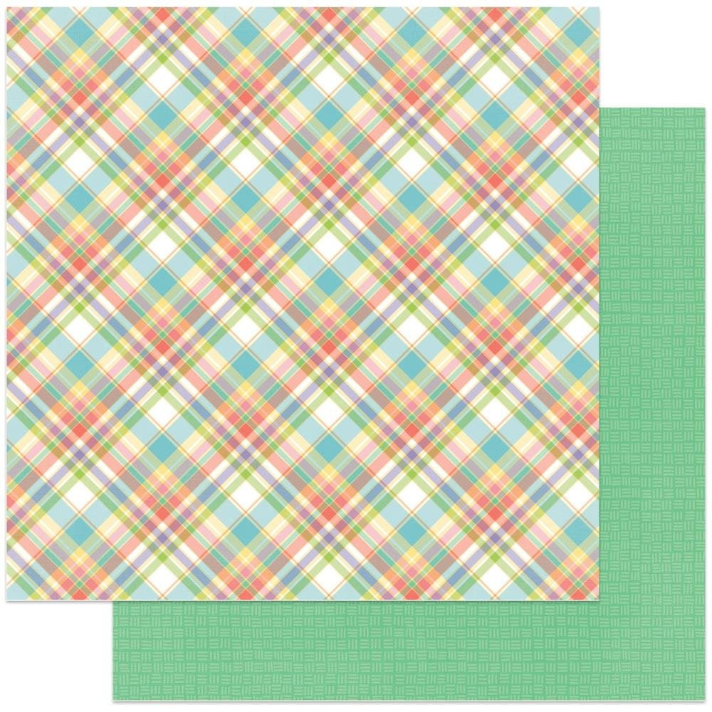 Sunday Best -Baskets Of Bunnies Double-Sided Cardstock 12X12-