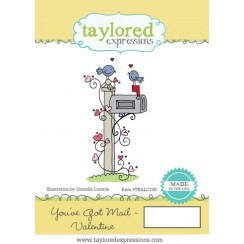 You've Got Mail Valentines- Taylored Expressions Stamp-