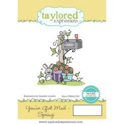Taylored Expressions Stamp- You've Got Mail Spring