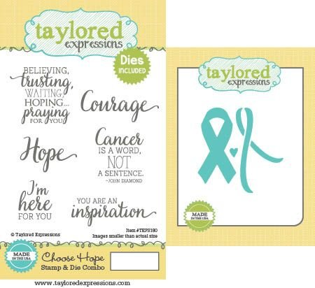 Choose Hope- Taylored Expressions Stamp and Die