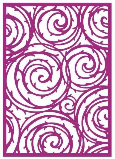 Thorn Swirls Gemini Create a Card