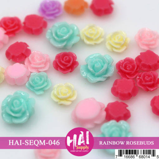 Rainbow Rosebuds