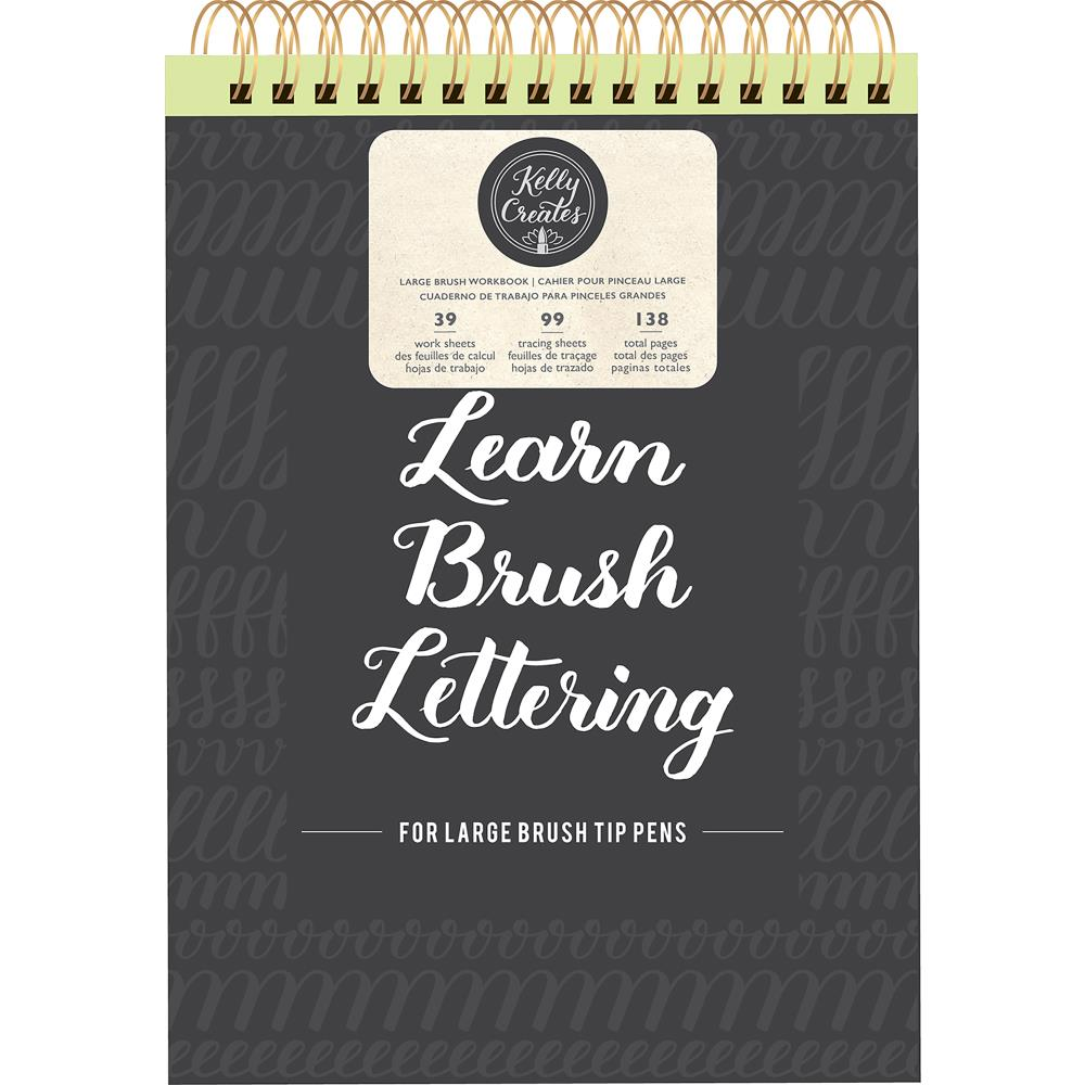 Kelly Creates Large Brush Workbook 8.5X12.3 138/Sheets
