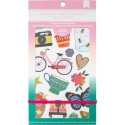 American Crafts Planner Stickers 12-Page Book 4.75X9- EVERYDAY