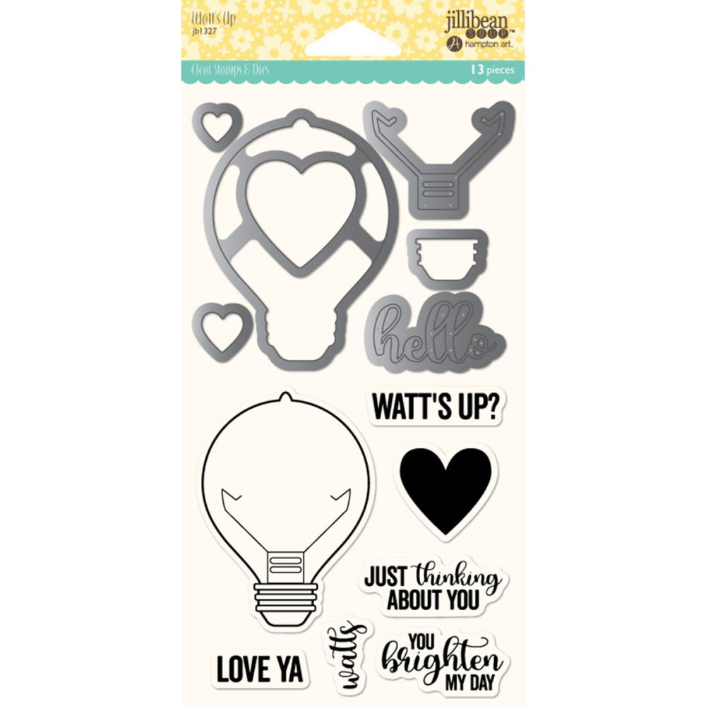 Jillibean Soup Clear Stamp Set- Watts Up