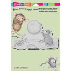 Stampendous Cling Stamp - House Mouse Beach Toss