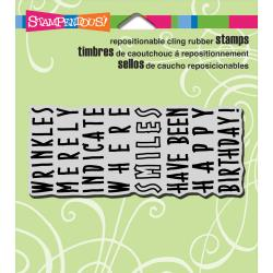 Birthday Wrinkles Stamp