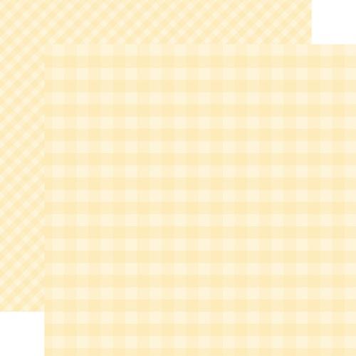 Echo Park 12X12 Paper- Cream Gingham