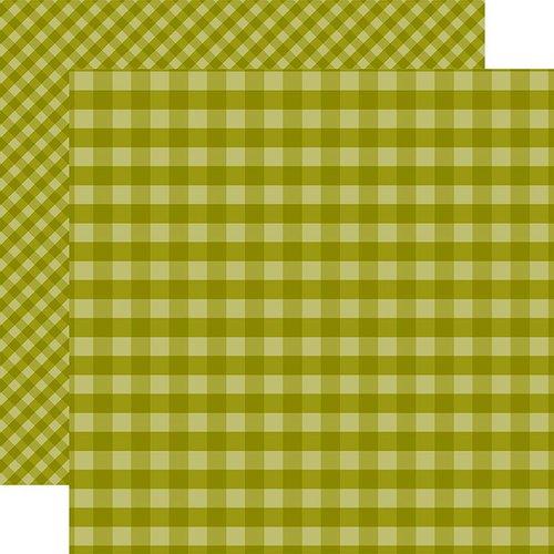 Echo Park 12X12 Paper- Green Gingham