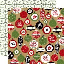 Echo Park- Celebrate Christmas: Deck the Halls Paper
